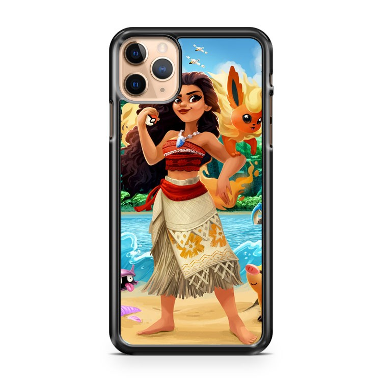Moana And Flareon iPhone 11 Pro Max Case Cover