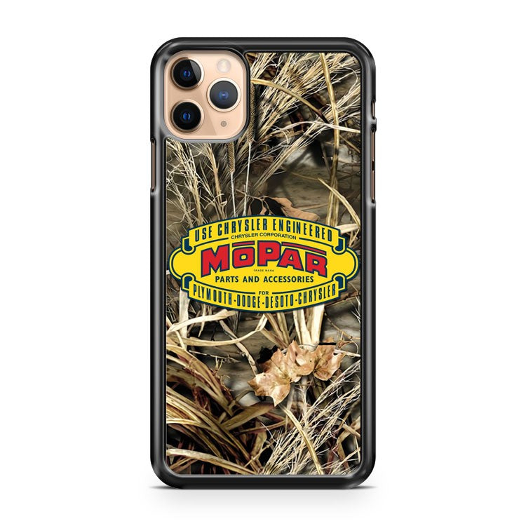 Mopar 1937 Logo CAMO iPhone 11 Pro Max Case Cover