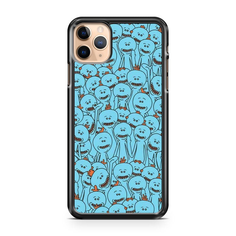 Mr Meeseeks Rick and Morty 3 iPhone 11 Pro Max Case Cover