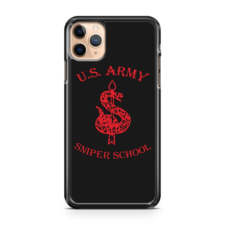 New US Army Special Force Sniper School Fort Benning Traning Camp iPhone 11 Pro Max Case Cover