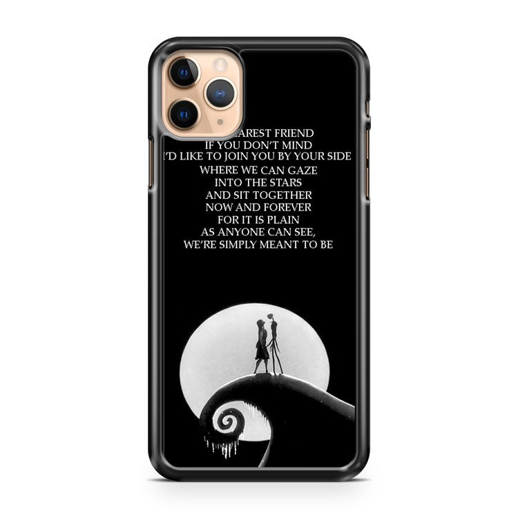 nightmare before christmas 4 iPhone 11 Pro Max Case Cover