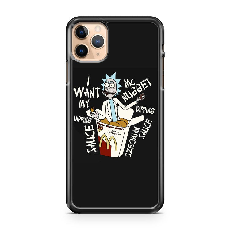 Rick and Morty McDonalds Szechuan Sauce iPhone 11 Pro Max Case Cover