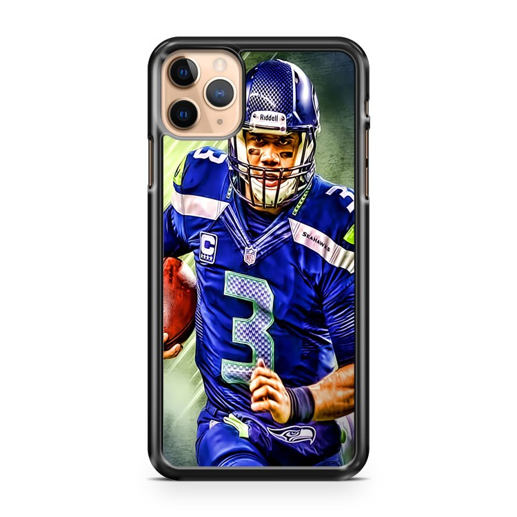 RUSSELL WILSON SEAHAWKS iPhone 11 Pro Max Case Cover