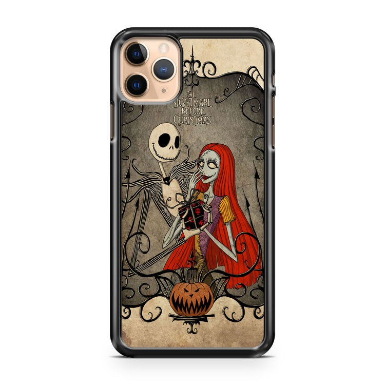 Skellington The Nightmare Before Christmas iPhone 11 Pro Max Case Cover