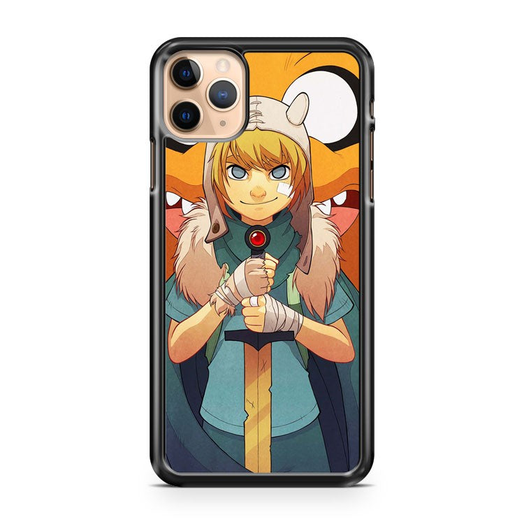 Adventure Time Finn iPhone 11 Pro Max Case Cover | CaseSupplyUSA