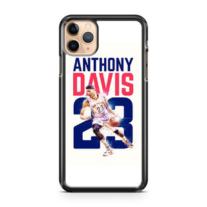 Anthony Davis Pelicans 23 iPhone 11 Pro Max Case Cover | CaseSupplyUSA