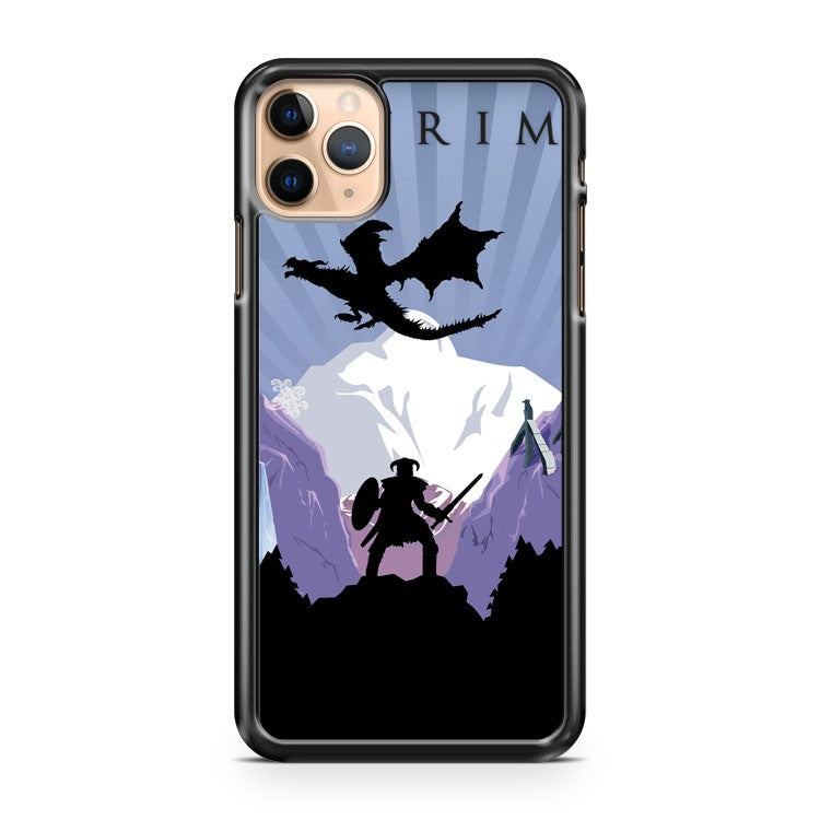 Art Skyrim Poster iPhone 11 Pro Max Case Cover | CaseSupplyUSA