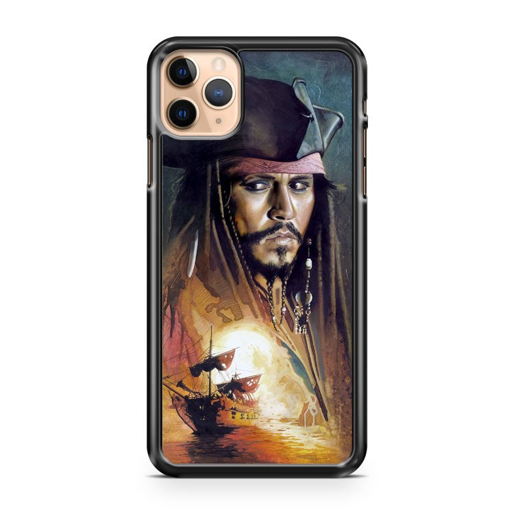 Captain Jack Sparrow iPhone 11 Pro Max Case Cover | CaseSupplyUSA