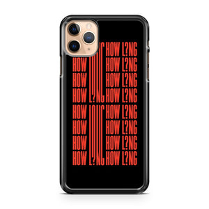 Charlie Puth How Long iPhone 11 Pro Max Case Cover | CaseSupplyUSA