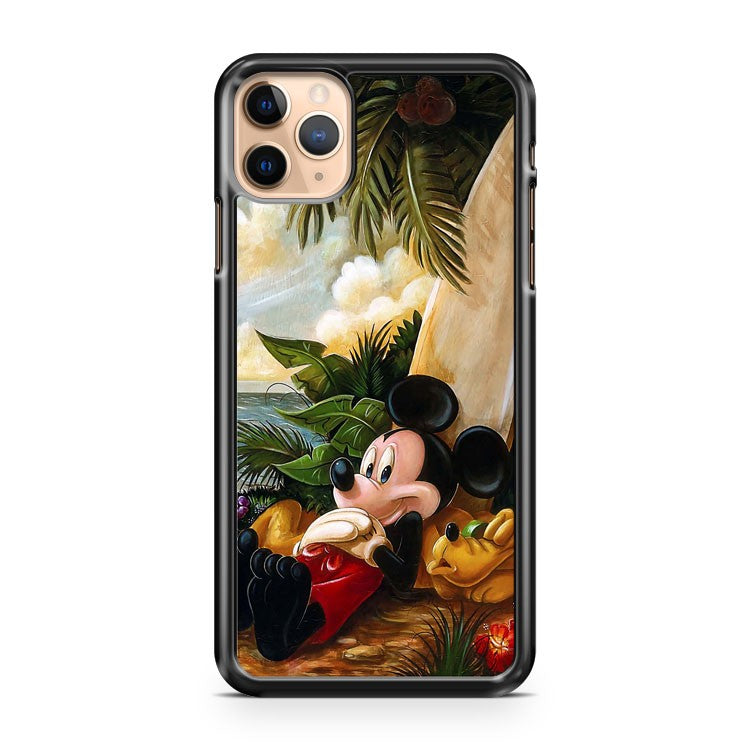 Mickey Mouse And Goofy iPhone 11 Pro Max Case Cover