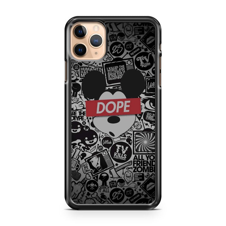 Mickey Mouse Dope Logo iPhone 11 Pro Max Case Cover