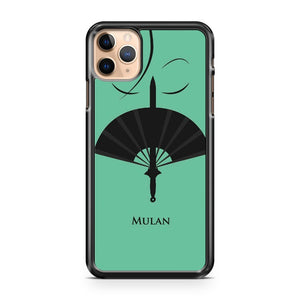 Mulan Minimalist Poster iPhone 11 Pro Max Case Cover