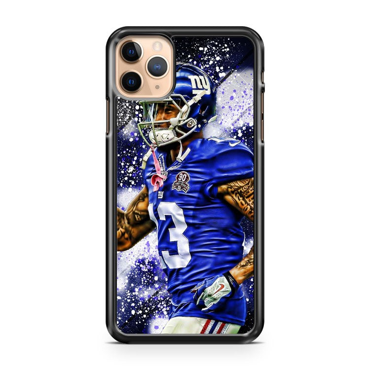 New York Giants WR Odell Beckham Jr iPhone 11 Pro Max Case Cover