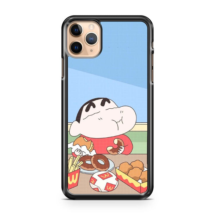 Shin Chan Eating Food iPhone 11 Pro Max Case Cover