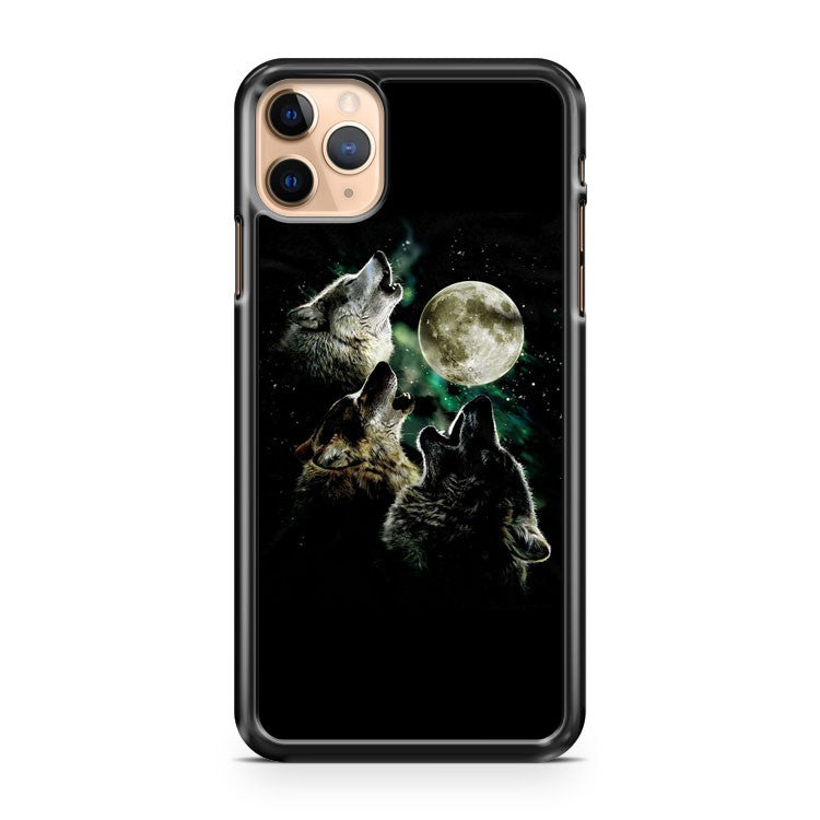 3 Wolf Moon iPhone 11 Pro Max Case Cover | CaseSupplyUSA