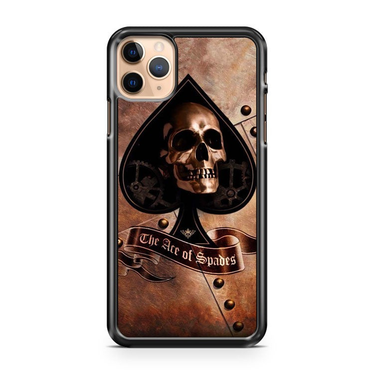 Ace Of Spades Skull iPhone 11 Pro Max Case Cover | CaseSupplyUSA