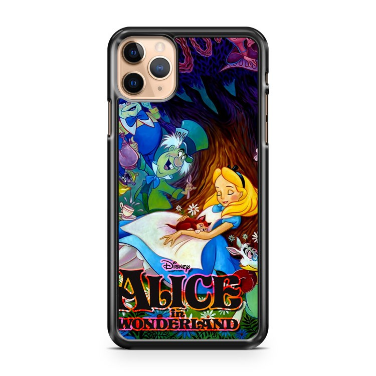 Alice In Wonderland Collage iPhone 11 Pro Max Case Cover | CaseSupplyUSA