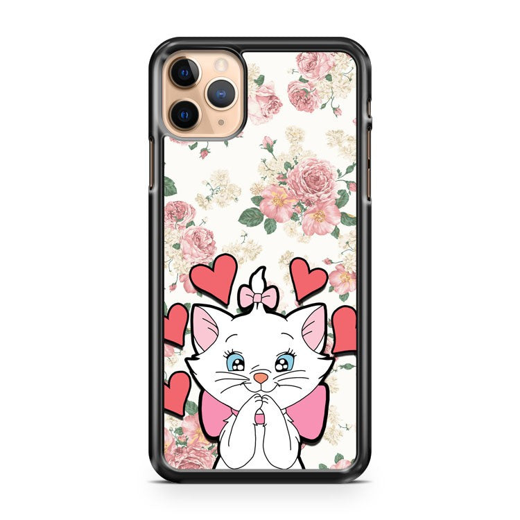 ARISTOCATS FLORAL MARIE WHITE iPhone 11 Pro Max Case Cover | CaseSupplyUSA