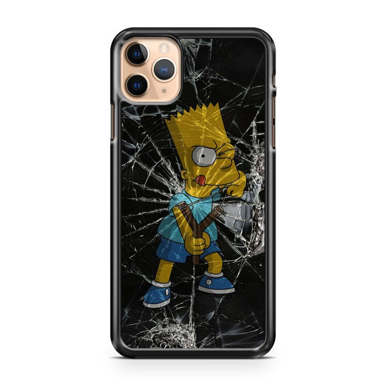 cartoon bart simpson iPhone 11 Pro Max Case Cover | CaseSupplyUSA