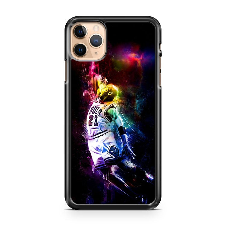 MICHAEL JORDAN JUMPMAN COLORING iPhone 11 Pro Max Case Cover