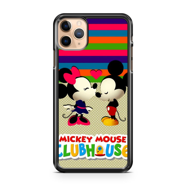 Mickey Mouse Rainbow Clubhouse iPhone 11 Pro Max Case Cover