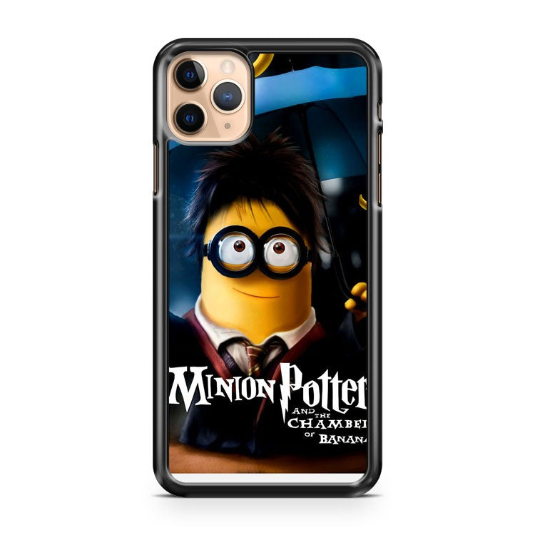 Minion Potter and the Chamber Of Bananas iPhone 11 Pro Max Case Cover