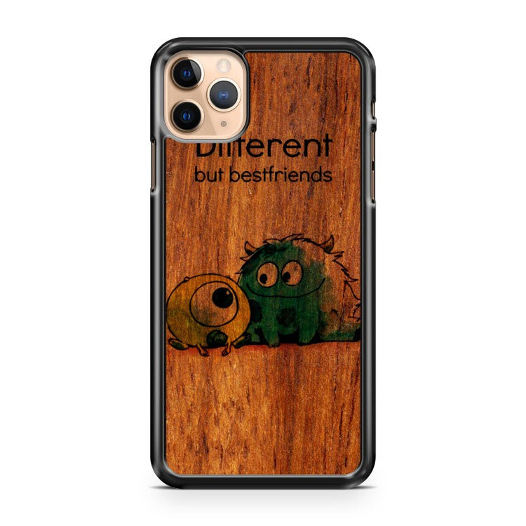 Monsters Inc Different Best Friends Wooden iPhone 11 Pro Max Case Cover