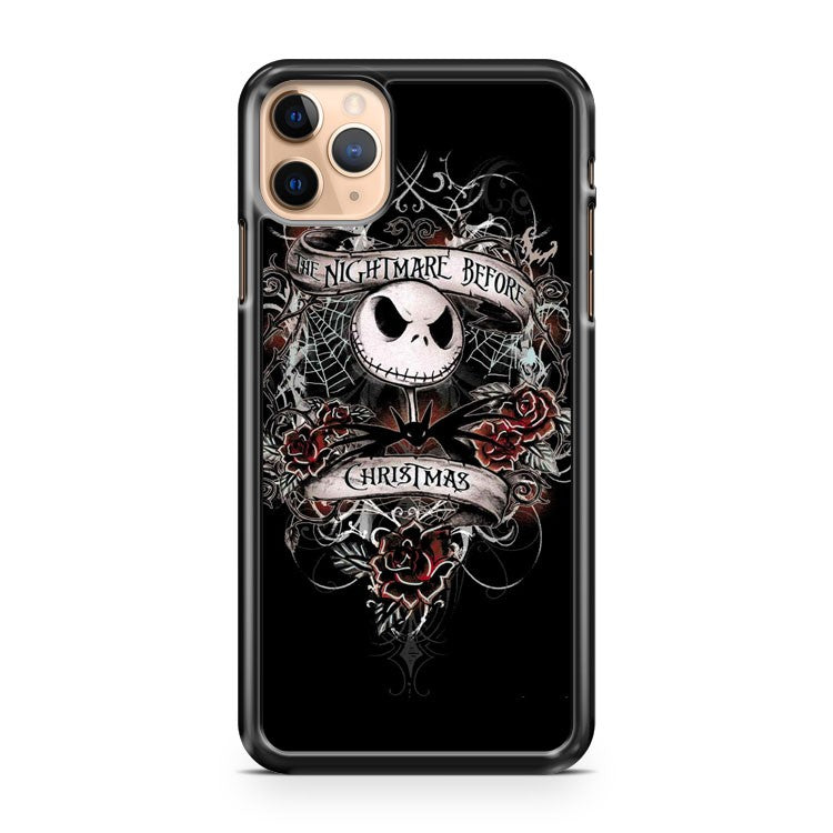 Nightmare Before Christmas Disney Cool iPhone 11 Pro Max Case Cover