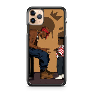 2Pac Tupac Ft Kendrick 2 iPhone 11 Pro Max Case Cover | CaseSupplyUSA