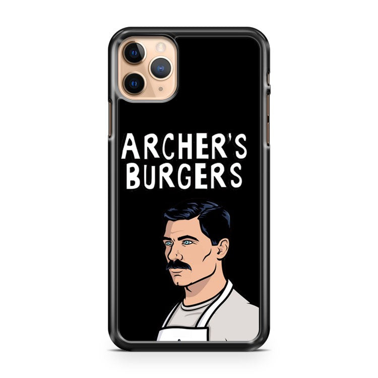 Archer s Burgers iPhone 11 Pro Max Case Cover | CaseSupplyUSA