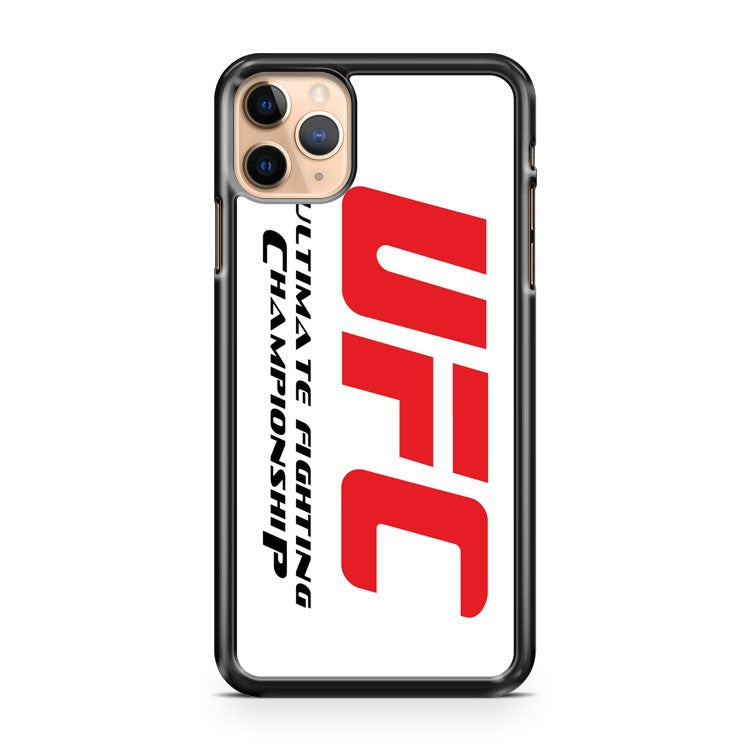 New ULTIMATE FIGHTING CHAMPIONSHIP UFC MMA 2 iPhone 11 Pro Max Case Cover