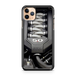 2017 Ford Mustang 32V Tivct Engine 2 iPhone 11 Pro Max Case Cover | CaseSupplyUSA