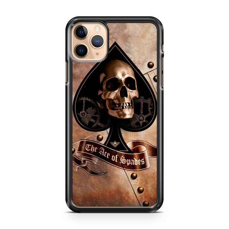 Ace Of Spades Skull 2 iPhone 11 Pro Max Case Cover | CaseSupplyUSA