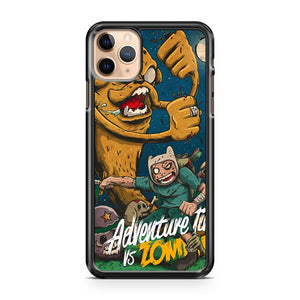 Adventure Time Vs Zombies iPhone 11 Pro Max Case Cover | CaseSupplyUSA