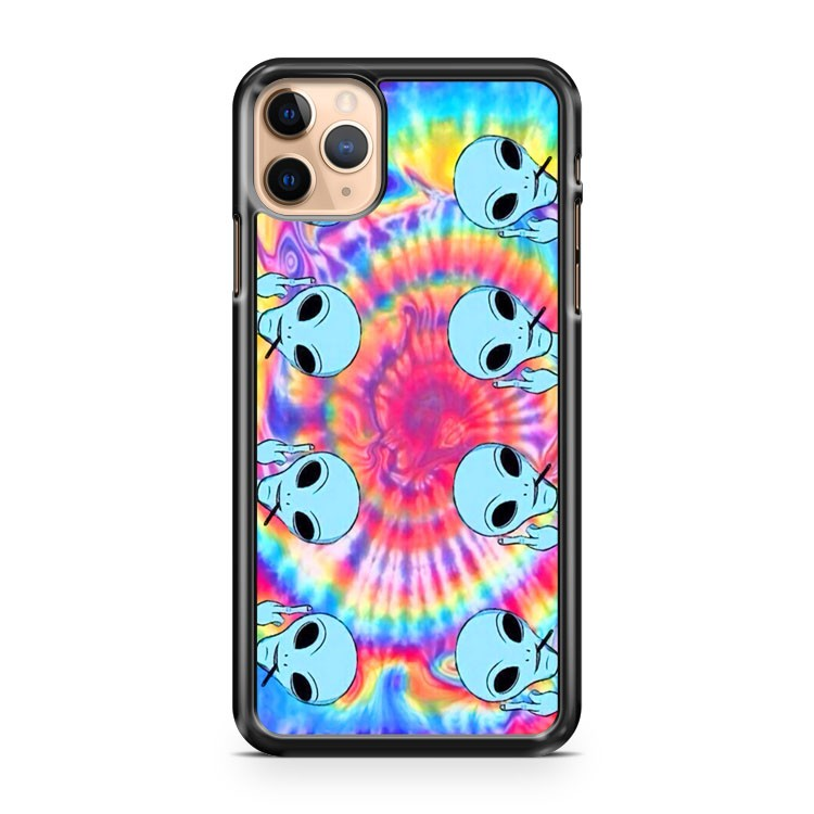 Alien grunge 2 iPhone 11 Pro Max Case Cover | CaseSupplyUSA