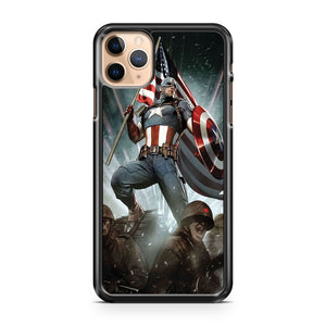 Captain America Marvel Comics Civil War iPhone 11 Pro Max Case Cover | CaseSupplyUSA