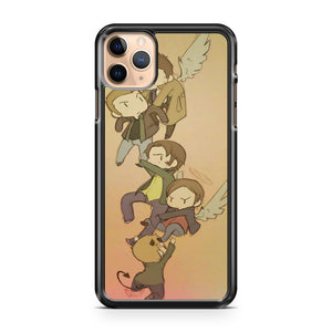 Cartoon Supernatural iPhone 11 Pro Max Case Cover | CaseSupplyUSA