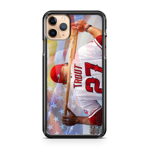 Mike Trout Los Angeles Angels Anaheim 2 iPhone 11 Pro Max Case Cover