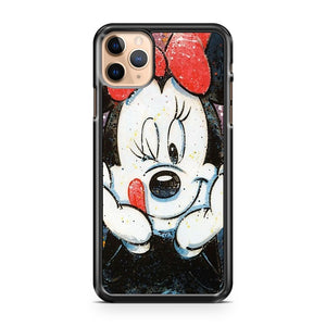 Minnie Mouse Disney Painting iPhone 11 Pro Max Case Cover