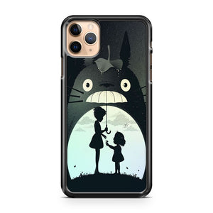 MY NEIGHBOR TOTORO ANIME SILHOUETTE iPhone 11 Pro Max Case Cover