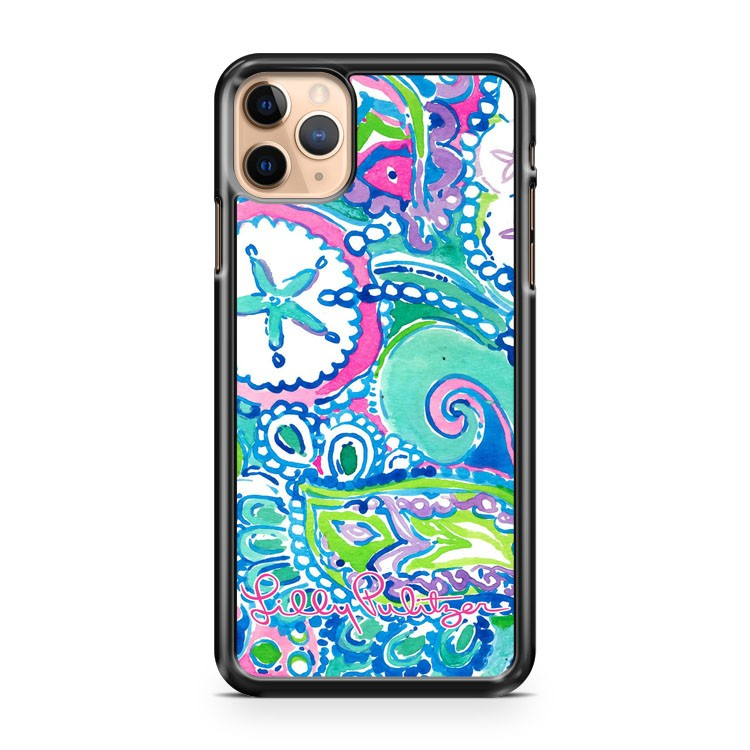 NEW LILLY PULITZER STAR iPhone 11 Pro Max Case Cover
