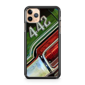 1971 Oldsmobile 442 Taillight Emblem iPhone 11 Pro Max Case Cover | CaseSupplyUSA