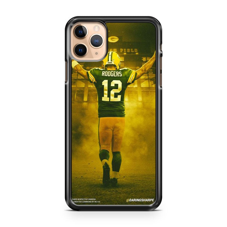 AARON RODGERS Green Bay Packers 1 iPhone 11 Pro Max Case Cover | CaseSupplyUSA