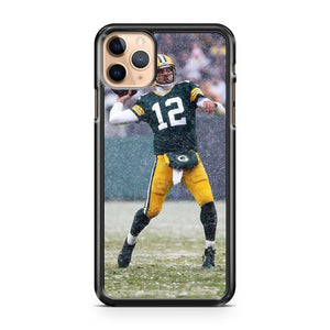 AARON RODGERS Green Bay Packers 2 iPhone 11 Pro Max Case Cover | CaseSupplyUSA