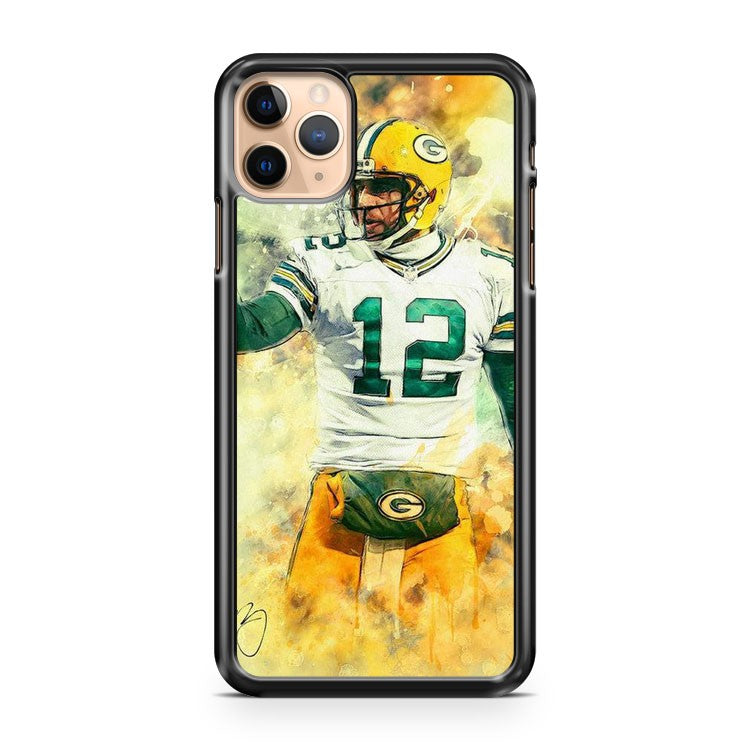 AARON RODGERS Green Bay Packers 3 iPhone 11 Pro Max Case Cover | CaseSupplyUSA