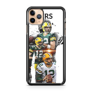 AARON RODGERS Green Bay Packers 4 iPhone 11 Pro Max Case Cover | CaseSupplyUSA