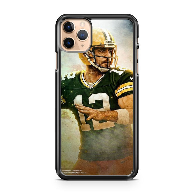 AARON RODGERS Green Bay Packers 5 iPhone 11 Pro Max Case Cover | CaseSupplyUSA
