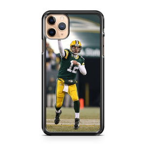 AARON RODGERS Green Bay Packers 7 iPhone 11 Pro Max Case Cover | CaseSupplyUSA