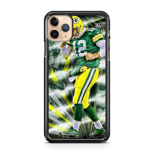 AARON RODGERS Green Bay Packers 11 iPhone 11 Pro Max Case Cover | CaseSupplyUSA