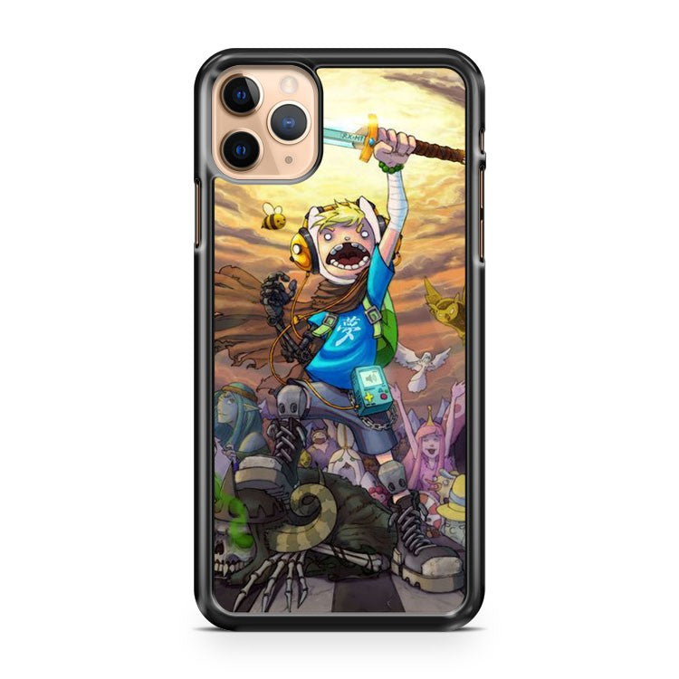 Adventure Time Art 3 iPhone 11 Pro Max Case Cover | CaseSupplyUSA